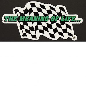 The Meaning of Life Sticker
