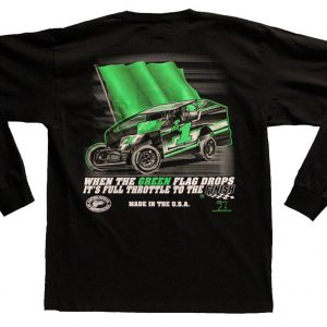 The Meaning of Life Long Sleeve T-Shirt (Black, Northeast Dirt Modified)