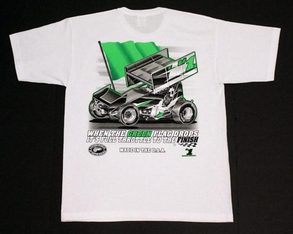 The Meaning of Life T-Shirt (White, Sprint Car)
