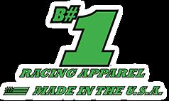 B#1 Racing Apparel