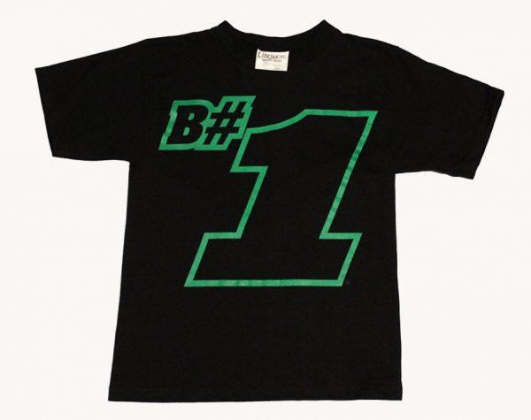 B#1 Children's T-Shirt (Black)