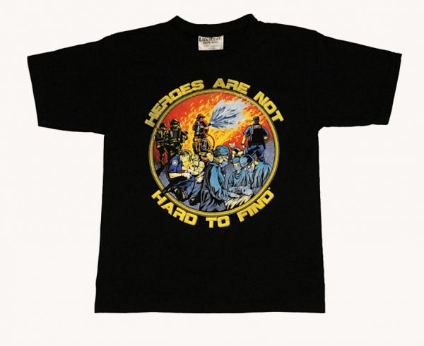 eroes Are Not Hard To Find Children's T-Shirt (Black)