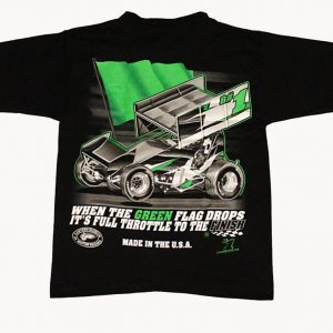 The Meaning of Life Children's T-Shirt (Black, Sprint Car)