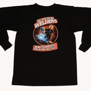 ll Penetration Welders Long Sleeve T-Shirt (Black)