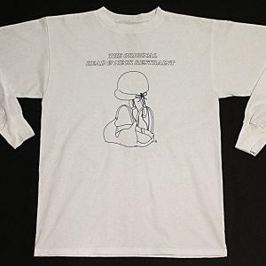 The Original Head & Neck Restraint Long Sleeve T-Shirt (White)