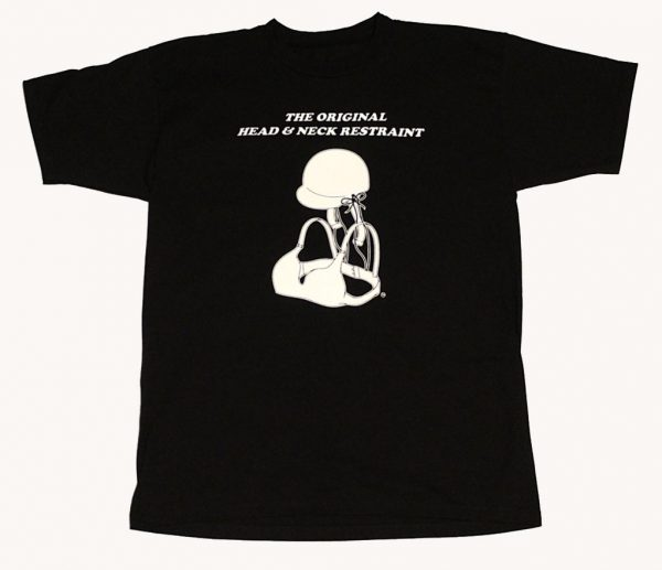 The Original Head & Neck Restraint T-Shirt (Black)