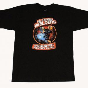 Full Penetration Welders T-Shirt (Black)