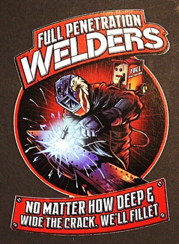 Full Penetration Welders Sticker