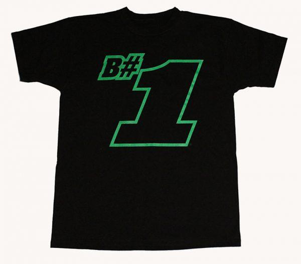 B#1 T-Shirt (Black)