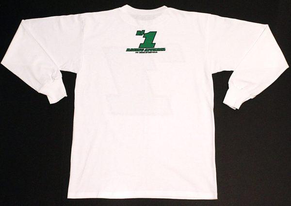 B#1 Long Sleeve T-Shirt Back