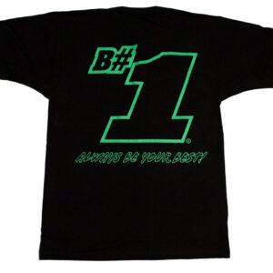 B#1 Always Be Your Best! Children's T Shirt (Black) - Back