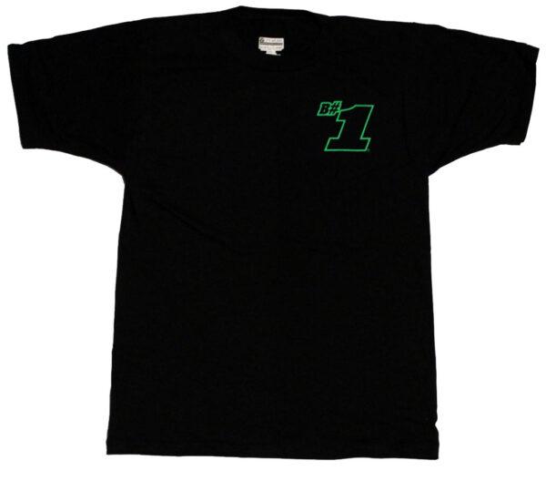 B#1 Always Be Your Best! Children's T Shirt (Black) - Front
