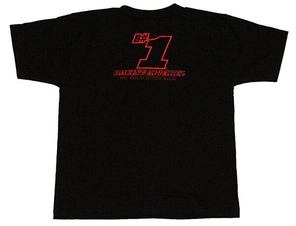 Helmets Children's T Shirt (Black) - Back